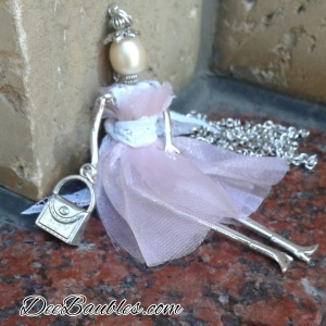Ballet Dancer Tiny Doll $35