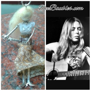 Joni, the Singer Songwriter Tiny Doll $40