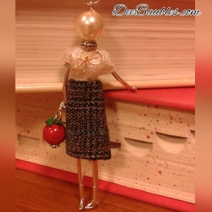 Michele, The Teacher Tiny Doll $40