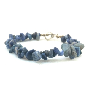 Blue Jewelry, Blue Necklace, Blue Bracelet