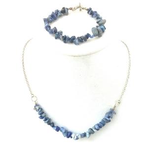 Sodalite Necklace, Sodalite Bracelet, Blue Bracelet, Blue Necklace,Blue Jewelry,Healing Stone Jewelry, Healing Stone Necklace, Everyday Jewelry