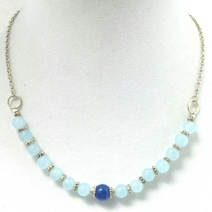 Blue Love Necklace $29