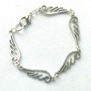 Wing, Wings, Silver Bracelet, Alternative Jewelry, Mr. Mister, Take These Broken Wings