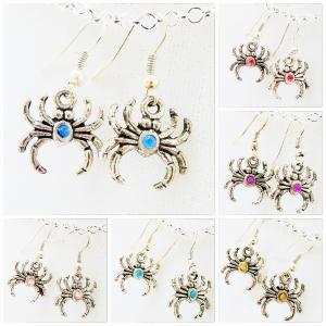 Spider Jewelry, Spider Earrings, Halloween Jewelry, Punk Jewelry, Goth Jewelry, Trendy Jewelry, Cheap Fashion Jewelry, Fantasy Jewelry