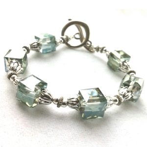 Crystal Jewelry, Crystal Wedding Jewelry, Crystal Bridal Jewelry, Statement Jewelry, Silver Jewelry, Silver Bracelet, Unique Handmade Jewelry, Handmade Bridal Jewelry, Handmade Wedding Jewelry