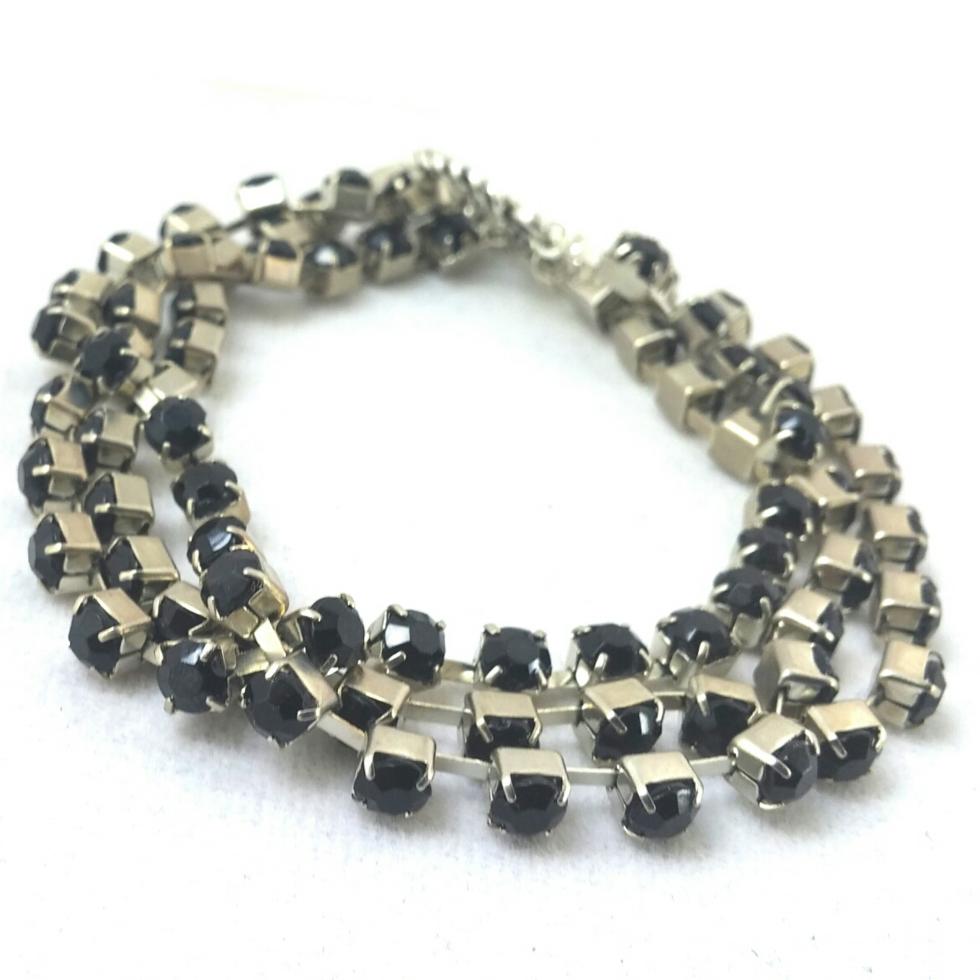 Black Bracelet, Black Jewelry, Black Statement Jewelry, Unique Black Jewelry, Statement Jewelry, Unique Statement Jewelry