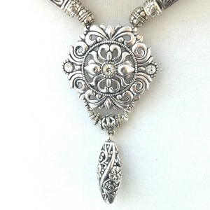 Gypsy Jewelry, Gypsy Necklace, Bohemian Necklace, Bohemian Jewelry, Silver Bohemian Jewelry, Silver Bohemian Necklace, Boho Jewelry, Boho Necklace